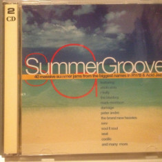 SUMMER GROOVE -Various Artists -2cd set/stare :FB/Original (1997/WARNER/GERMANY) - Muzica Dance