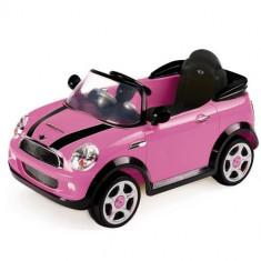 Masinuta Mini Cooper Pink - Masinuta electrica copii Biemme
