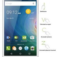 Acer Liquid Z530 Dual Sim White + husa tip carte alba - Telefon mobil Acer