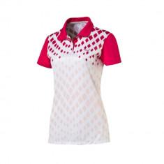 Tricou Polo Dama Puma Sport Golf Cod Produs E803 - Produs Original - Tricou dama Puma, Marime: M, L, Culoare: Din imagine, Maneca scurta, Poliester