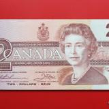CANADA - 2 Dollars 1986 - aUNC - bancnota america