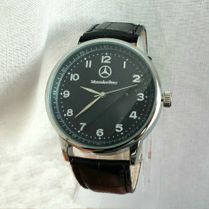 Ceas barbati Mercedes Benz casual elegant lux gen armani guess patek NOU! - Ceas barbatesc, Quartz