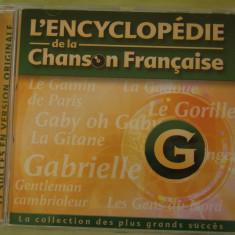 ENCICLOPEDIA CANTECULUI FRANCEZ Litera G - C D Original ca NOU - Muzica Pop universal records
