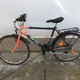 5 Bicicleta treisfert puch second-hand, germania. r24 - Mountain Bike, 18 inch, Numar viteze: 21