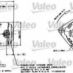 Motor electric, ventilator RENAULT TWINGO I Van 1.2 - VALEO 698015 - Electroventilator auto