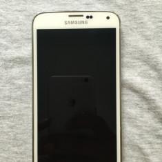 Vand Samsung Galaxy S5, alb, 16Gb, stare buna - Telefon mobil Samsung Galaxy S5, Neblocat, Single SIM