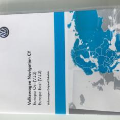 Dvd navigatie original ( V13 ) pentru VW, SKODA, SEAT RNS 510/ 810/ 850 - Software GPS
