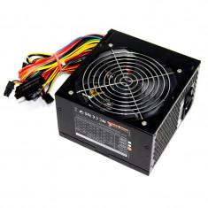 Sursa Rasurbo SilentPower DLP-55.1 550W, vent. 120mm, PCI-ex 6 pini, garantie! - Sursa PC Rasurbo, 550 Watt