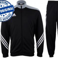 Trening barbat Adidas Sereno - trening original - treninguri pantaloni conici - Trening barbati Adidas, Marime: S, M, L, XL, XXL, Culoare: Negru, Poliester