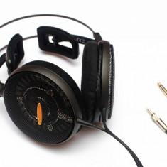 Casti Hi-Fi Audio-Technica AD2000x, Casti Over Ear, Cu fir, Mini-jack Stereo 6.3 mm/3.5 mm