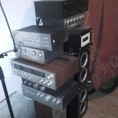 amplificatoare  vintage deosebite ,boxe