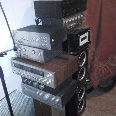 Amplificatoare vintage deosebite, boxe - Amplificator audio Kenwood
