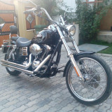 Harley Davidson Dyna Wide Glide,Twin Cam 96, an 2007, 1600 cc, 6 speed.