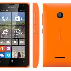 Microsoft Lumia 435 Dual SIM, orange - Telefon Microsoft