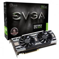 Placa video EVGA EVGA GeForce GTX 1070 ACX 3.0, 8GB GDDR5 (256 Bit), HDMI, DVI, 3xDP - Placa video PC