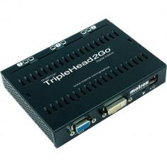 Placa video Matrox Adaptor grafic TripleHead2Go, Triple Digital Edition, retail - Placa video PC