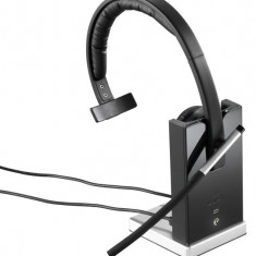 Casti Logitech Wireless Headset mono H820E cu microfon - Casti Telefon