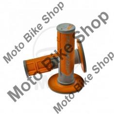 MBS Mansoane gri/portocaliu, D.22MM. L.115MM, Cod Produs: 7296775MA - Mansoane Moto