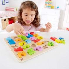 Hape Litere gigante - Jocuri Litere si Cifre