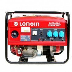Loncin GENERATOR 3, 1 KW, 220V, Motor 4 timpi, Autonomie 13h - Generator curent