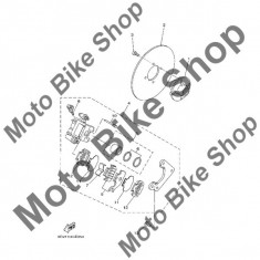 MBS Etrier spate complet 2008 Yamaha Wolverine 450 4wd (YFM45FXX) #4, Cod Produs: 3C22580V0000YA - Etrier frana Moto