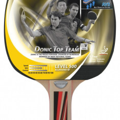DONIC Paleta tenis de masa Allround Green Series 600 - Paleta ping pong