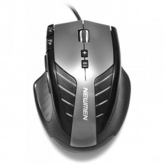 Mouse Newmen G9 gaming, Wired, USB, Laser, 6000dpi, Negru