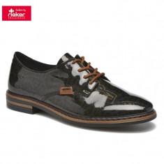 Pantof dama piele sintetica RIEKER 50614-90 leo (Marime: 36)