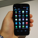 Motorola Moto G2 16GB - Telefon Motorola, Negru, Quad core, 2 GB