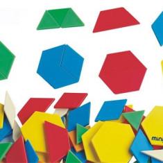 Forme Geometrice Diverse Miniland 250 Buc - Jocuri arta si creatie
