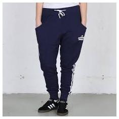 Pantaloni Adidas dama, originali, conici, marimea S, Culoare: Albastru, Marime: 36
