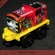 Fisher Price - Thomas and Friends Minis - trenulet jucarie SPOOKY SALTY - Trenulet de jucarie Fisher Price, Metal, Unisex