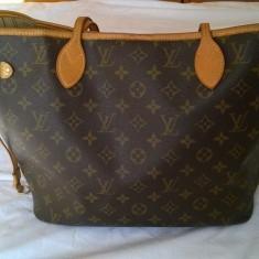 Geanta de Dama Louis Vuitton - Originala - Geanta Dama Louis Vuitton, Culoare: Maro, Marime: Medie