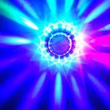 Disco led  sun / soare nou jocuri de lumini