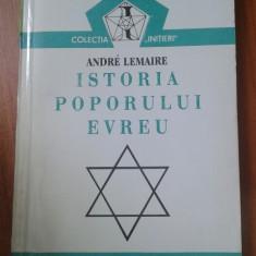 17961 ANDRE LEMAIRE - ISTORIA POPORULUI EVREU - Istorie
