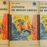 CONTELE DE MONTE - CRISTO, VOL. I - II - III, EDITIA A III - A de ALEXANDRE DUMAS, 1964