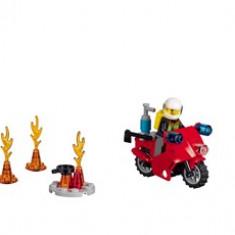LEGO® Juniors Valiza Pompieri - 10685 - LEGO Minifigurine