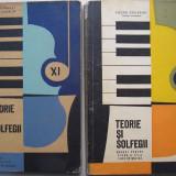 Teorie si Solfegii - Manual de clasa a XI-a si a XII-a (2 carti)