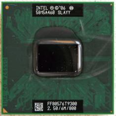 Procesor laptop T9300 2.5Ghz Socket P INTEL Core 2 Duo SLAYY 6MB FSB 800, 2500- 3000 Mhz, Numar nuclee: 2, P