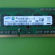 Memorie RAM laptop SODIMM DDR3 Hynix 1GB PC3-10600 1333MHz