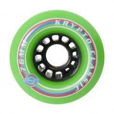 Set 4 Roti Longboard Kryptonics Classic K Green 76mm/82A - Skateboard