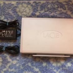 Hard extern Lacie Big Disk Extreme + 1TB ( Usb, Firewire ( 400, 800 )) - HDD extern Lacie, 1-1.9 TB, Rotatii: 7200, 3.5 inch, 16 MB