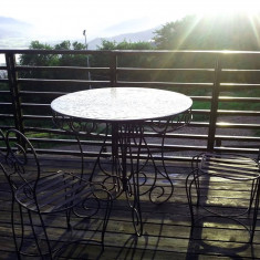 Mobilier gradina fier forjat - Mobila terasa gradina