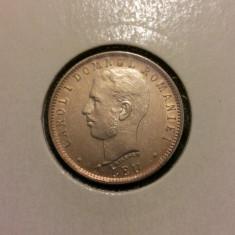 1 leu 1906 piesa de colectie - Moneda Romania, Argint