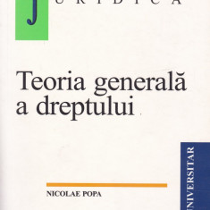 Nicolae Popa - Teoria generala a dreptului - 597285 - Carte Drept administrativ