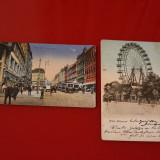 Doua Carti Postale vechi Cu Viena - Carte postala tematica, Circulata, Fotografie, Franta