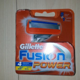 Rezerve Gillette  Fusion Power  set de 4 bucati