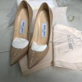 Pantofi Jimmy Choo - Pantof dama, Marime: 37, Piele naturala, Nude