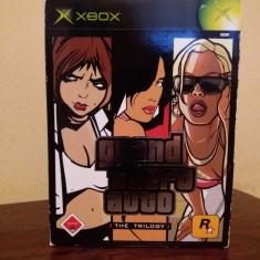 Grand Theft Auto:The Trilogy joc Xbox original (editia pentru collectionari) - Jocuri Xbox Rockstar Games