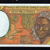 Africa Centrala Gabon 2000 Francs [4] 1993-00 P#403L - bancnota africa
